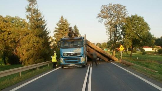 Kolejny wypadek w Moderówce. Cysterna zderzyła się z ciężarówką (ZDJĘCIA)