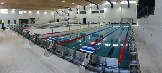 Pierwszy plusk na nowym basenie. Obiekt po testach bezpieczeństwa (VIDEO, FOTO)