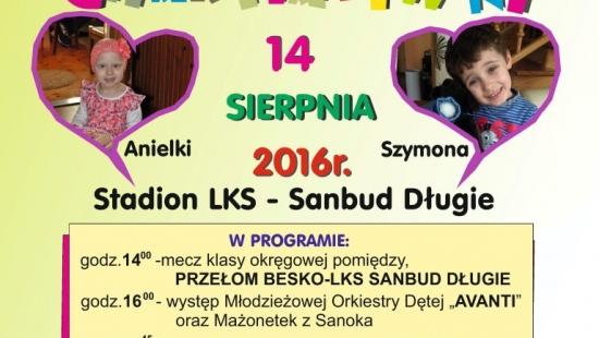 NASZ PATRONAT: Piknik Charytatywny dla Anielki i Szymona