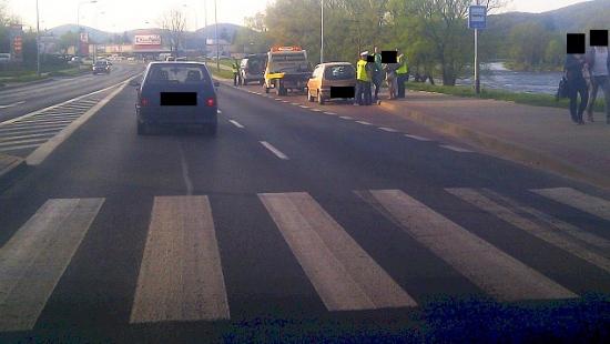 SANOK: 75-latek potrącony na przejściu (ZDJĘCIA)
