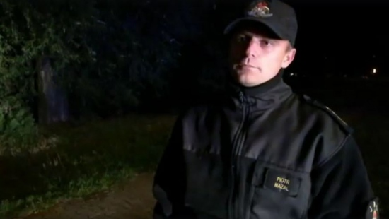 Rozmowa z dowódcą akcji poszukiwawczej. Ze względu na porę nocną i panujące warunki, działania zostały przerwane (FILM)