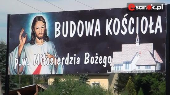 Sanoczek buduje kościół pw. Miłosierdzia Bożego! (VIDEO HD)