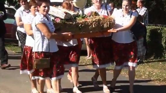 Rolnicy z gminy Sanok dziękowali za urodzajne plony (FILM)