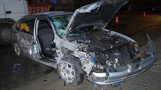 Cztery osoby ranne w wypadku (ZDJĘCIA)