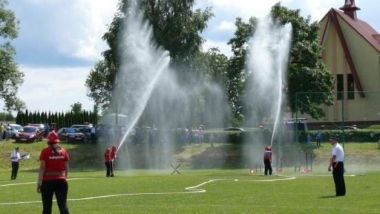 Strażacy ochotnicy sprawdzili swoje umiejętności (ZDJĘCIA)