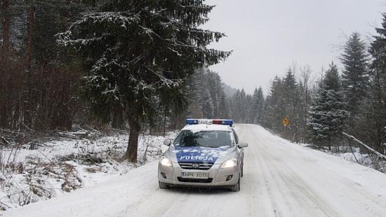 UWAGA: W Bieszczadach trudne warunki na drogach!