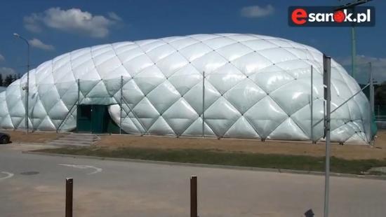 Sanok doczekał się nowych kortów tenisowych (VIDEO HD)