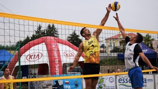 PRZEMYŚL: Nad Sanem odbyły się I Mistrzostwa Polski w Siatkówce Plażowej Służb Mundurowych (ZDJĘCIA)