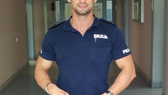 Funkcjonariusz Policji z Sanoka ze srebrem (ZDJĘCIA)