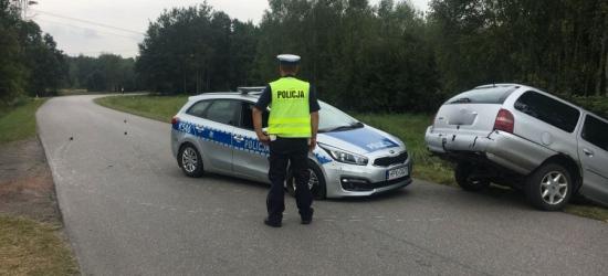 Pościg w Kupnie. Pijany kierowca dwa razy uderzył w radiowóz