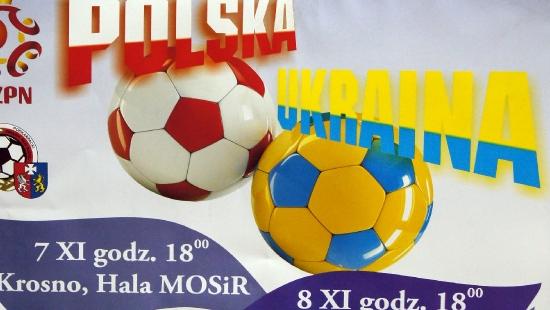 Reprezentacja Polski i Ukrainy w futsalu zagra w Nowosielcach!