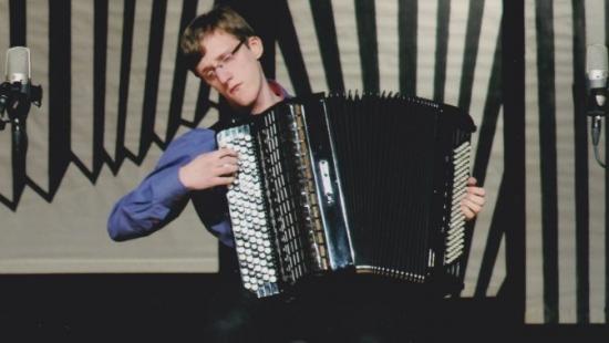 Międzynarodowy sukces sanoczanina! Rafał Pałacki zagrał z najlepszymi akordeonistami (ZDJĘCIA)