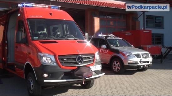 SANOK: Nowoczesny sprzęt do dyspozycji komendy PSP. Wielkie wsparcie dla strażaków-płetwonurków (FILM)