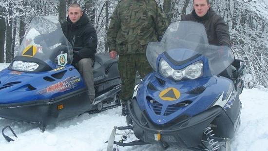Patrol z funkcjonariuszami Straży Granicznej