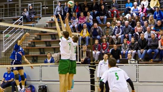 TSV Mansard Sanok pokonuje Tęczę Żołynia i pozostaje liderem! (VIDEO HD)
