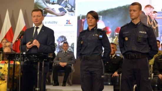 """""""Przywróciliśmy Polakom poczucie bezpieczeństwa"""". Tak twierdzi MSWiA (FILMY, ZDJĘCIA)"""