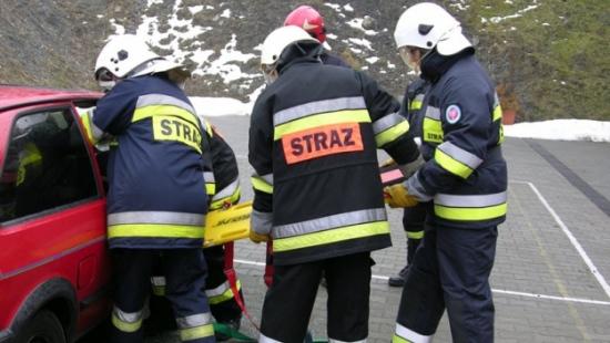 Pożar w zakładzie produkcyjnym. W Tyrawie Wołoskiej odbyły się ćwiczenia strażaków ochotników (ZDJĘCIA)