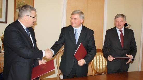 List intencyjny o współpracy w ramach Podkarpackiego Trójmiasta (ZDJĘCIA)
