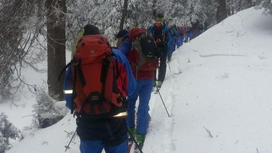 Szkolenie lawinowe ratowników z bieszczadzkiego GOPR-u (ZDJĘCIA)