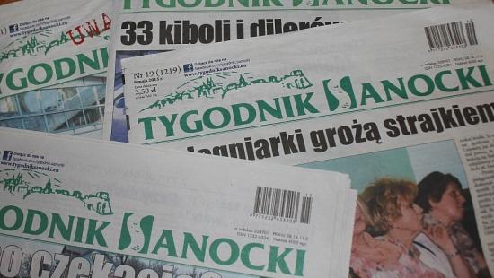 Tygodnik Sanocki nadal bez redaktora naczelnego. Kandydaci pominęli kwestie ekonomiczne