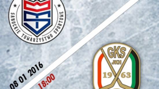 TRANSMISJA NA ŻYWO: Pierwsze hokejowej emocje w Sanoku w 2016 roku. Oglądaj mecz Ciarko PBS Bank STS Sanok – JKH GKS Jastrzębie
