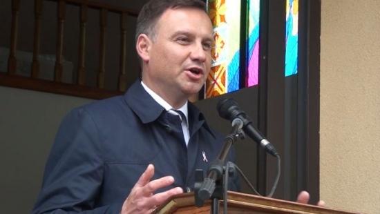 """Andrzej Duda w Strachocinie: """"Wspólnie odbudujmy Polskę!""""(FILM)"""